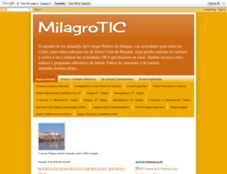 milagrotic.blogspot.com screenshot