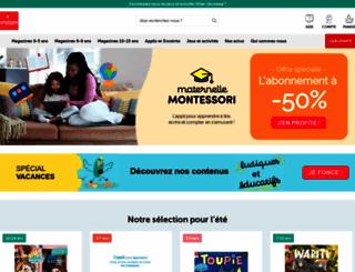 milan-jeunesse.com screenshot
