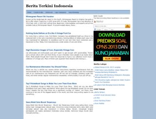 milanistaindonesia.blogspot.com screenshot