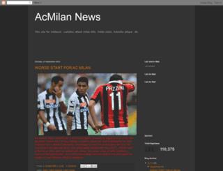 milanisti1news.blogspot.in screenshot
