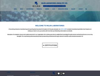 milanlabs.com screenshot