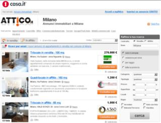 milano.attico.it screenshot