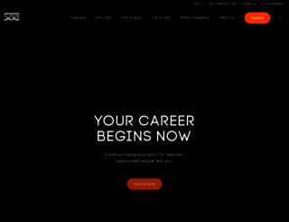 milano.sae.edu screenshot