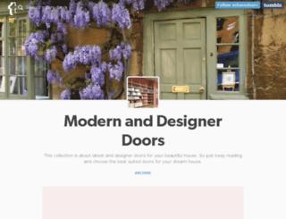 milanodoors.tumblr.com screenshot