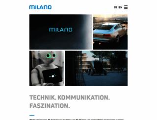 milanomedien.com screenshot