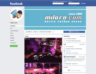 milaro.com screenshot