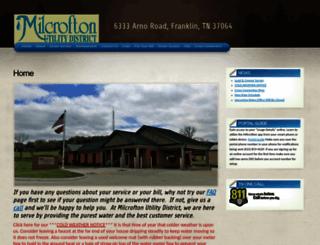 milcrofton.com screenshot