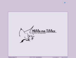 mildamatildes.se screenshot