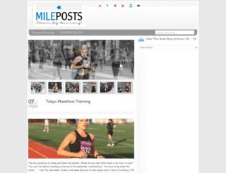 mile-posts.com screenshot