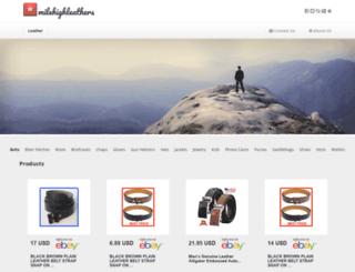 milehighleathers.com screenshot