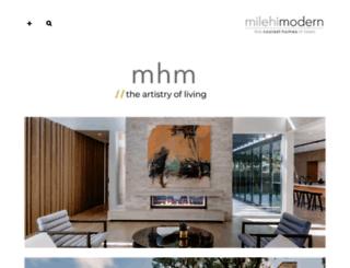milehimodern.com screenshot