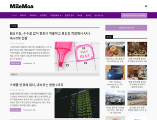 milemoa.com screenshot