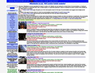 milesfaster.co.uk screenshot