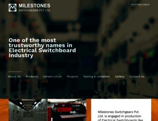 milestonesindia.com screenshot