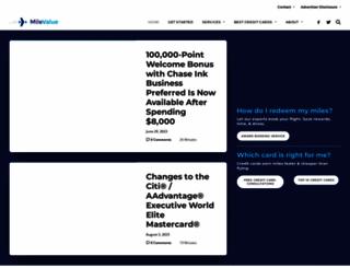 milevalue.com screenshot