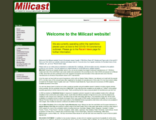 milicast.com screenshot