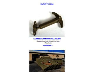 military-for-sale.com screenshot