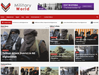 military-world.net screenshot