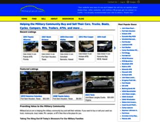 militarycarlot.com screenshot