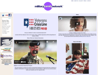 militaryfamilynetwork.com screenshot