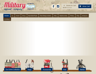 militaryhandbag.com screenshot