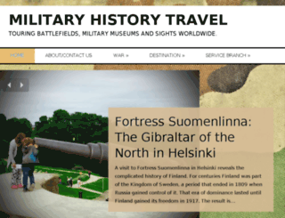 militaryhistorytravel.org screenshot