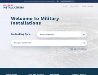 militaryinstallations.dod.mil screenshot