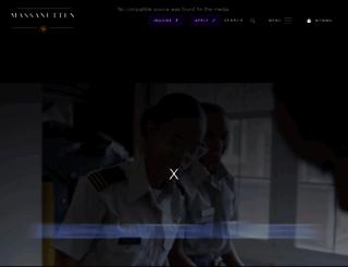 militaryschool.com screenshot