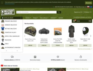militarysklad.cz screenshot