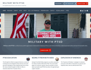 militarywithptsd.org screenshot