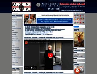 miliziadisanmichelearcangelo.org screenshot