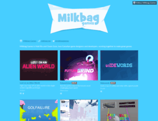 milkbaggames.itch.io screenshot