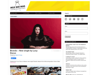 milkbarmag.com screenshot