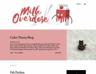milkoverdose.blogspot.com screenshot