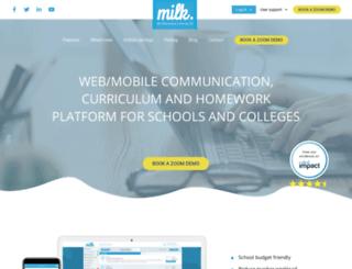 milkstudentplanner.com screenshot