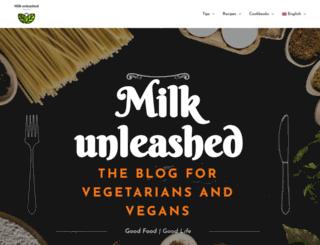 milkunleashed.com screenshot