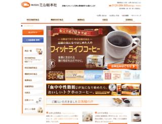 mill.co.jp screenshot