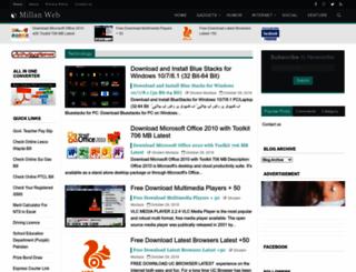 millanweb.blogspot.com screenshot