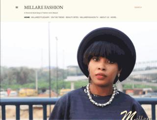 millarefashion.blogspot.com screenshot
