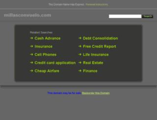 millasconvuelo.com screenshot