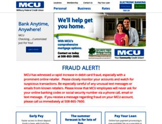 millburycu.com screenshot