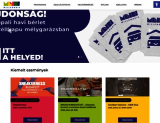 millenaris.hu screenshot