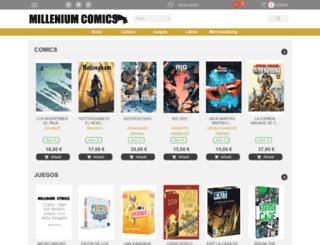 milleniumcomics.es screenshot