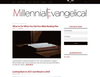 millennialevangelical.com screenshot