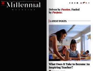 millennialmagazine.com screenshot