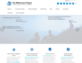 millennium-project.org screenshot