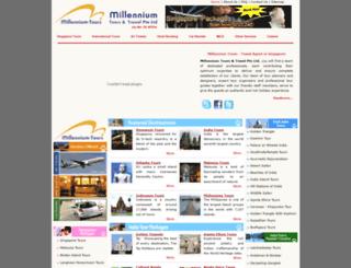 millennium-tours.com screenshot
