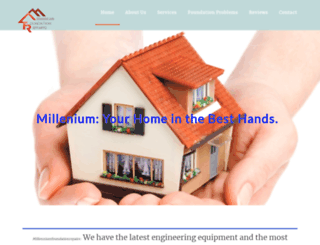 millenniumfoundationrepairs.com screenshot
