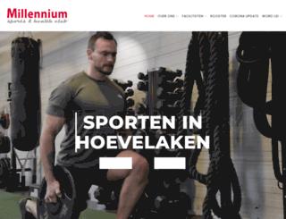 millenniumsports.nl screenshot