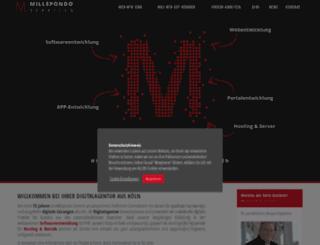 millepondo.de screenshot